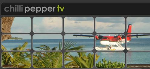 TrainStorm Portfolio - Chilli Pepper TV - website design and development