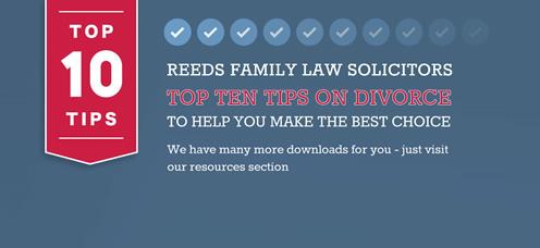TrainStorm Media Portfolio - Reeds Family Law Solicitors - website design and development