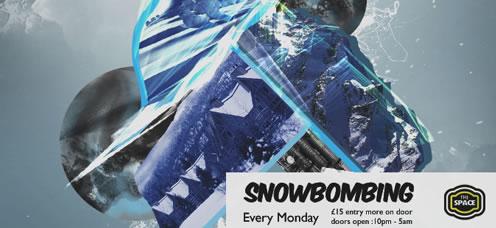 TrainStorm Media Portfolio - Snowbombing - Poster design