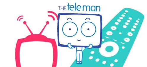 TrainStorm Media Portfolio - The Teleman - branding, website design and development