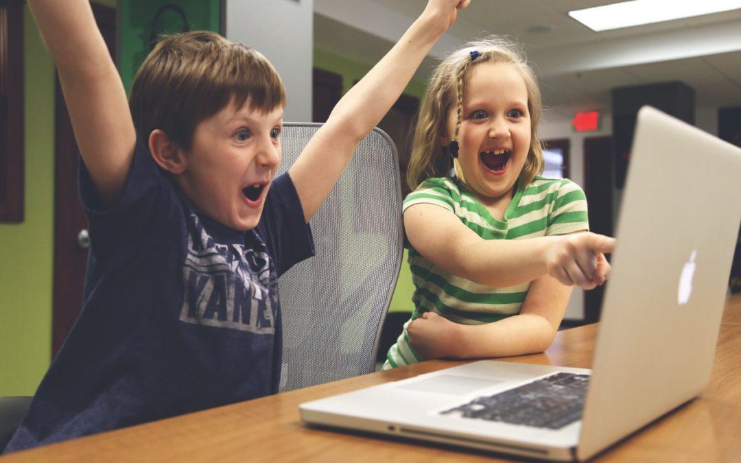 Kids on a Laptop